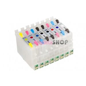 ПЗК R800 – перезаправляемые картриджи для Epson Stylus: Photo R800, R1800