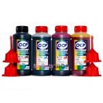 OCP BK 35, C, M, Y 712 (SAFE SET) 100гр. 4 штуки - чернила (краска) для картриджей Canon PIXMA: PG-510, PG-512, CL-511, CL-513