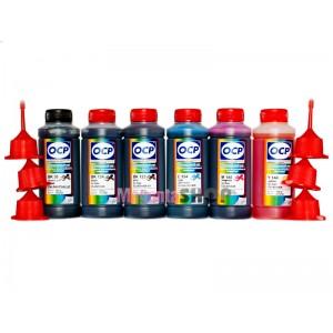 OCP BK 35, BK 124, BK 123, C 154, M, Y 144 (SAFE SET) 100гр. 6 штук - чернила (краска) для принтеров Canon PIXMA: MP980, MP990, MG6140, MG6240, MG8140, MG8240