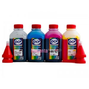 OCP BKP 44, C, M, Y 710 4 шт. по 500 грамм - чернила (краска) для картриджей Canon PIXMA: PG-440, CL-441
