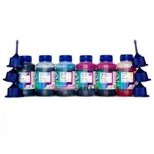 Чернила OCP BK, C, M, Y 155, ML, CL 156 6 шт. по 70 гр. для принтеров Epson InkJet Photo L800, L1800, L805, L810, L815, L850