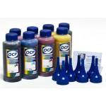 Чернила (краска) OCP для принтеров Epson Stylus Photo: R800, R1800 - 100 гр. 8 штук.