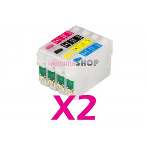 Картриджи NON-Stop для принтеров Epson Stylus TX210 TX410 TX219 TX200 TX209 TX400 TX409 TX419