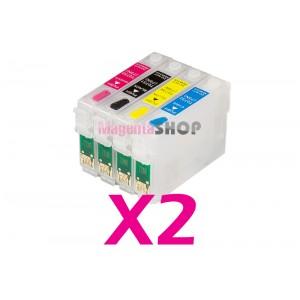 Перезаправляемые картриджи NON-Stop для Epson TX117 CX4300 TX109 T26 T27 TX106 C91 TX119 (T0921, T0922, T0923, T0924)