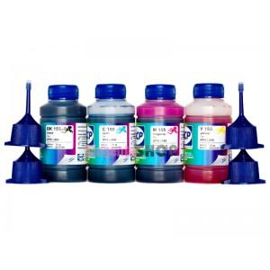 Чернила OCP BK, C, M, Y 155 4 шт. по 70 гр. для принтеров Epson InkJet Photo L100, L110, L120, L132, L200, L210, L222, L300, L312, L350, L355, L362, L366, L456, L550, L555, L566, L655, L1300
