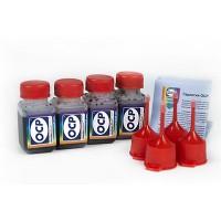 OCP BKP 44, C, M, Y 712 4 штуки по 25 грамм - чернила (краска) для картриджей Canon PIXMA: PG-510, PG-512, CL-511, CL-513