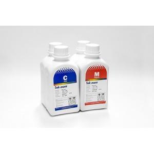 Ink-mate EIM-200 4 шт. по 500 грамм - чернила (краска) для принтеров Epson: L100, L110, L120, L132, L200, L210, L222, L300, L312, L350, L355, L362, L366, L456, L550, L555, L566, L655, L1300