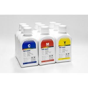 Набор литровых чернил Ink-mate EIM990 (9 цветов по 1000 грамм) для плоттеров Epson 7890 9890 в оригинальной упаковке