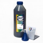 Чернила OCP BKP 110 для Epson UltraChrome R800 Black Pigment 1000 гр.