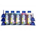 Чернила (краска) OCP для принтеров Epson Expression Premium: XP-600, XP-605, XP-610, XP-615, XP-700, XP-710, XP-800, XP-810 - 100 гр. 5 штук.