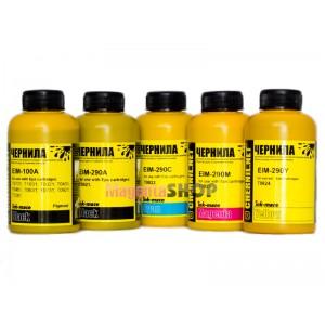 Чернила (краска) Ink-mate для принтеров Epson Expression Premium: XP-600, XP-605, XP-610, XP-615, XP-700, XP-710, XP-800, XP-810 - 100 гр. 5 штук.