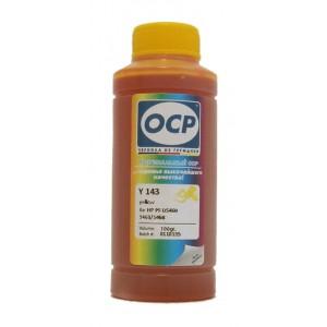 Чернила OCP Y 343 Yellow (Жёлтый) для CZ112AE (HP655) 100 гр.