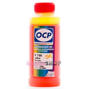 Чернила OCP Y 710 для Canon CL-441 и CL-441XL Yellow 100 гр.