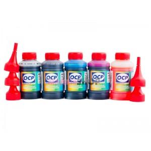 Чернила OCP BKP 44, BK 797, C 133, M, Y 122 5 шт. по 70 гр. для картриджей Canon PIXMA PGI-5, CLI-8