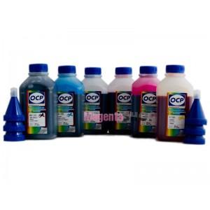 OCP BK 73, C 76, CL 77, M 72, ML 73, Y 61 (для Epson QuickDry принтеров) 6 шт. по 500 грамм - чернила (краска) для принтеров Epson: Stylus Photo