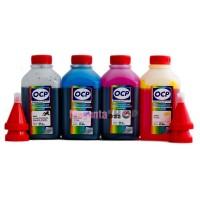 OCP BKP 44, C, M, Y 136 4 шт. по 500 грамм - чернила (краска) для картриджей Canon PIXMA: PG-445, CL-446