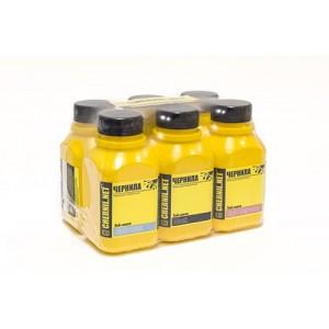 Ink-mate EIM-143, EIM-290 5 штук по 250 гр. - чернила (краска) для принтеров Epson Expression Premium: XP-600, XP-605, XP-610, XP-615, XP-700, XP-710, XP-800, XP-810