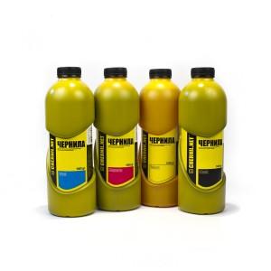 Ink-mate CIM-004, CIM-041 4 штуки 1000 гр. - чернила (краска) для картриджей Canon PIXMA: PG-37, PG-40, PG-50, CL-38, CL-41, CL-51