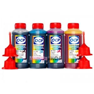 OCP BKP 44, С, M, Y 795 100гр. 4 штуки - чернила (краска) для принтеров Canon PIXMA: iP1200, iP1300, iP1600, iP1700, iP1800, iP1900, iP2200, iP2500, iP2600, MP140, MP150, MP160, MP170, MP180, MP190, MP210, MP220, MP450, MP460, MX300, MX310