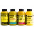 Чернила (краска) Ink-mate для принтеров Epson: Stylus, WorkForce, WorkForce Pro - 100 гр. 4 штуки.