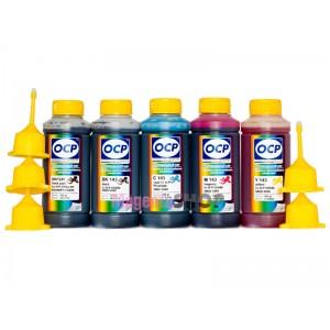 OCP BKP 249, BK, C, M, Y 143 100гр. 5 штук - чернила (краска) для картриджей HP: 178