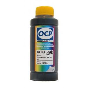 Чернила OCP BK 143 Photo Black (Фото Чёрный) для CB317HE и CB322HE (HP178 и HP178XL) 100 гр.
