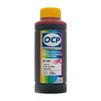 Чернила OCP M 143 для картриджей CB317HE и CB322HE (HP178 и HP178XL) цвет Magenta (Пурпурный) 100 гр.