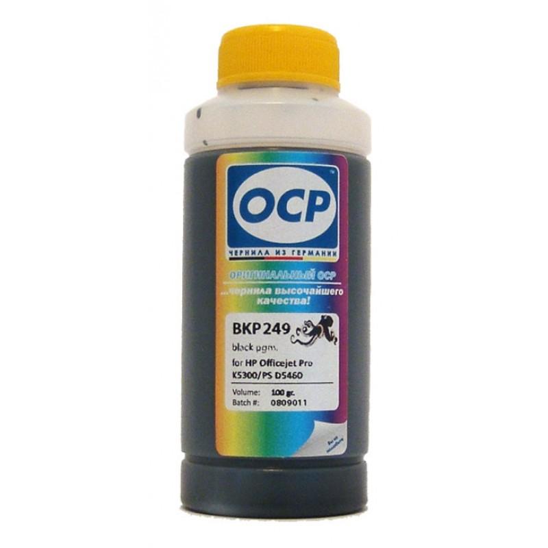 Чернила OCP для HP 178/920/655/27/56 BKP 249 Black Pigment 100 гр.