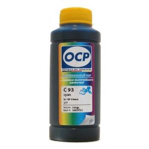 Чернила OCP C 93 Cyan (Голубой) для C8771HE (HP177) 100 гр.