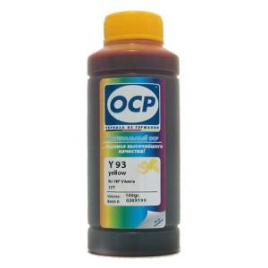 Чернила OCP Y 752 Yellow (Жёлтый) для любых картриджей HP со встроенной печатающей головкой (HP122 HP131 HP134 и остальных) 100 гр.