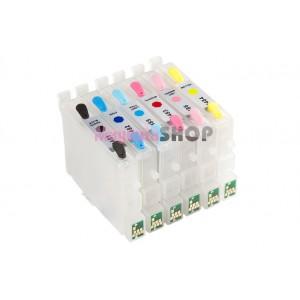ПЗК R200 – перезаправляемые картриджи для Epson Stylus Photo: R200, R220, R300, R320, R340, RX500, RX620, RX640, RX600, R230