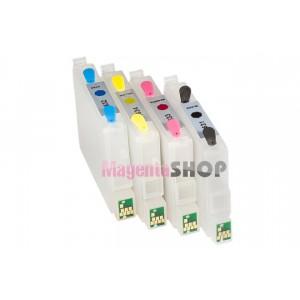 ПЗК CX3700 – перезаправляемые картриджи для Epson Stylus: CX3700, C67, C87, CX4700, CX4100