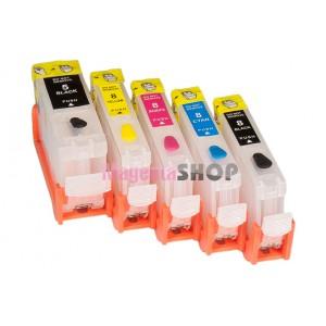 ПЗК iP4200 – перезаправляемые картриджи (с чипами) для Canon PIXMA: iP4200, iP4300, iP4500, iP3300, iP3500, iP5200, iX5000, iX4000, MP500, MP510, MP530, MP600, MP800, MP810, MP830, MX850