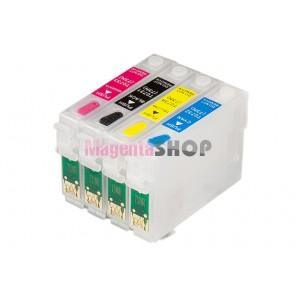 ПЗК T40W – перезаправляемые картриджи для Epson Stylus: T40W, TX300F, TX550W, TX600FW