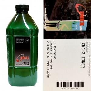 Тонер для hp универсал тип cmg-3 (фл,1кг,imex) green atm