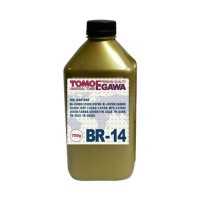 Тонер для brother универсал тип br-14 (фл,750,tomoegawa) gold atm