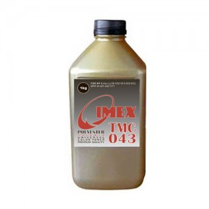 Тонер для hp color универсал тип tmc 043 (фл,1кг,кр,polyester,imex) gold atm
