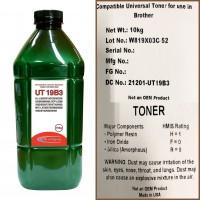 Тонер для brother универсал тип ut19b3 (фл,750,mitsubishi/mki) green atm