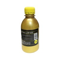 Тонер для hp color lj cp 1215/1515/1518/1525/см1312/cm1415 (фл,40,желт,chemical mki) gold atm