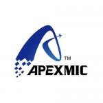 Магнитный ролик (в сборе) hp p2035/p2055 (без бушингов, metal head) (упаковка 10 шт) apexmic